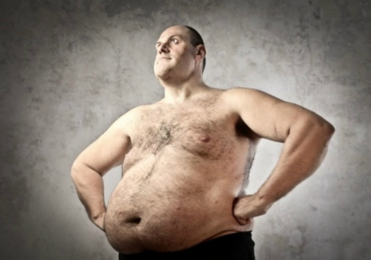 Confidence boost for obese person