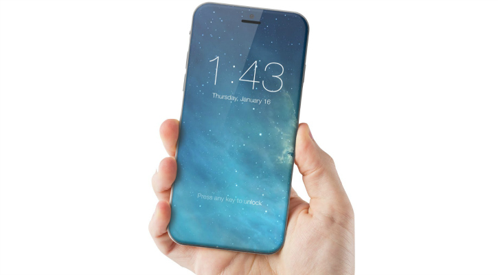 iPhone 8 concept art