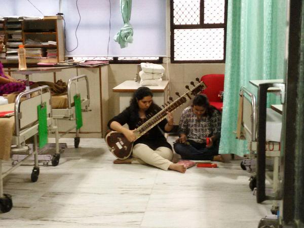 music therapy can help bring relief to patients