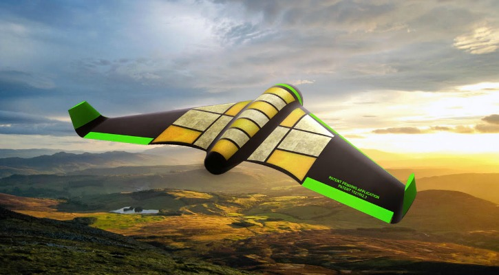A Drone Made Of Honeycomb, Compressed Veggies & Salami Could Solve World Hunger
