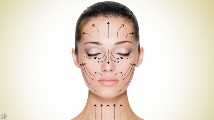 Directions for face spoon massage