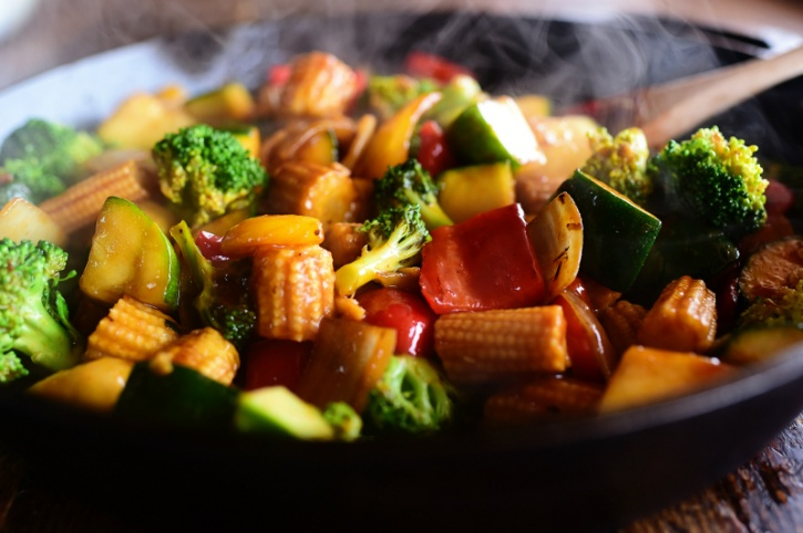 Reheating sauteed and stir-fried foods