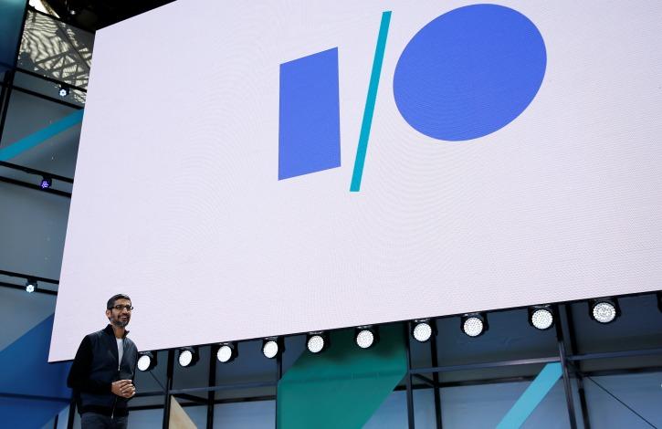 Sundar Pichai (Google CEO) at Google IO 2017