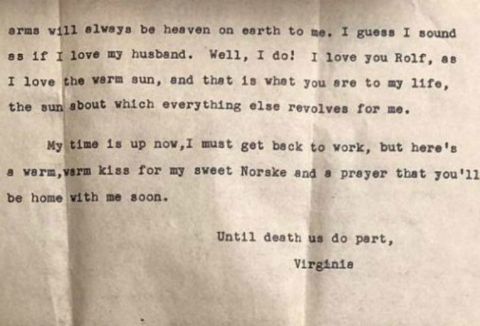 Wwii Us Veteran Discovers Love Letter His Late Wife Wrote To Him