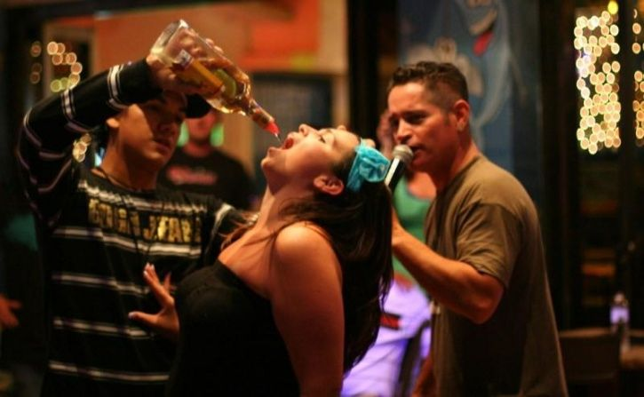 -Heavy/dependent drinkers were six times more likely to do so than low risk drinkers. -Heavy drinkers were more likely to select any drink that was associated for them with feelings of aggression and tearfulness when at home or when out. -Dependent drinkers may rely on alcohol to generate the positive emotions they associate with drinking. -Dependent drinkers were also they were five times more likely to feel energised than low risk drinkers.