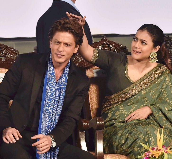 Kajol and SRK