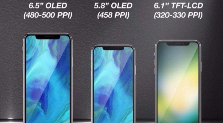 Apple podría lanzar dos nuevos iPhone's de pantalla completa en 2018