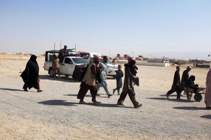 Afghan Pakistan Border