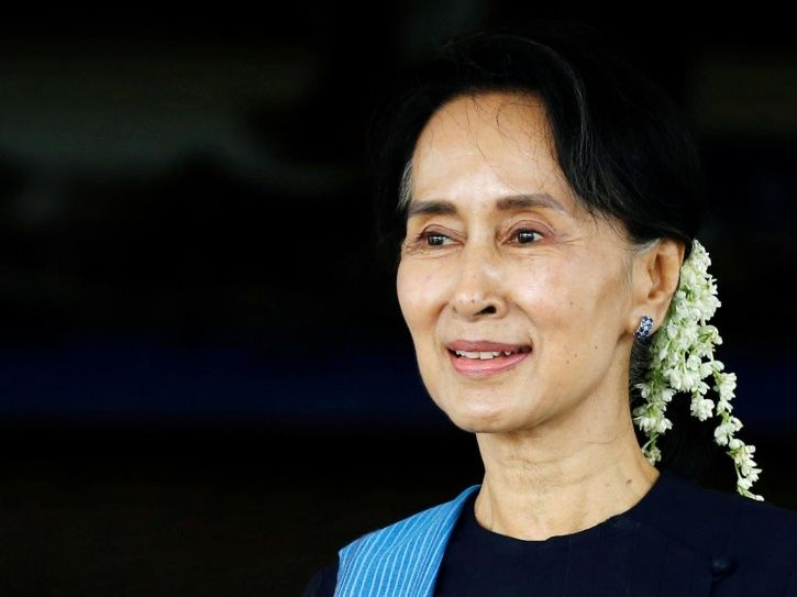 oxford university college removes aung san suu kyis