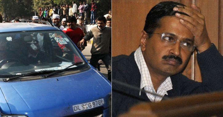 Kejriwal Wagon R stolen
