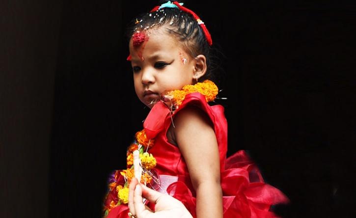Nepal Has Chosen Three-Year-Old Trishna Shakya As Its New ...