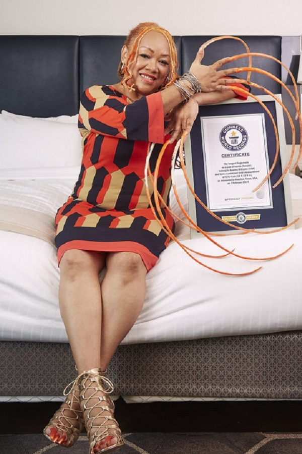 Ayanna Williams Is A Guinness Record Holder Who Spent 20 Years ...