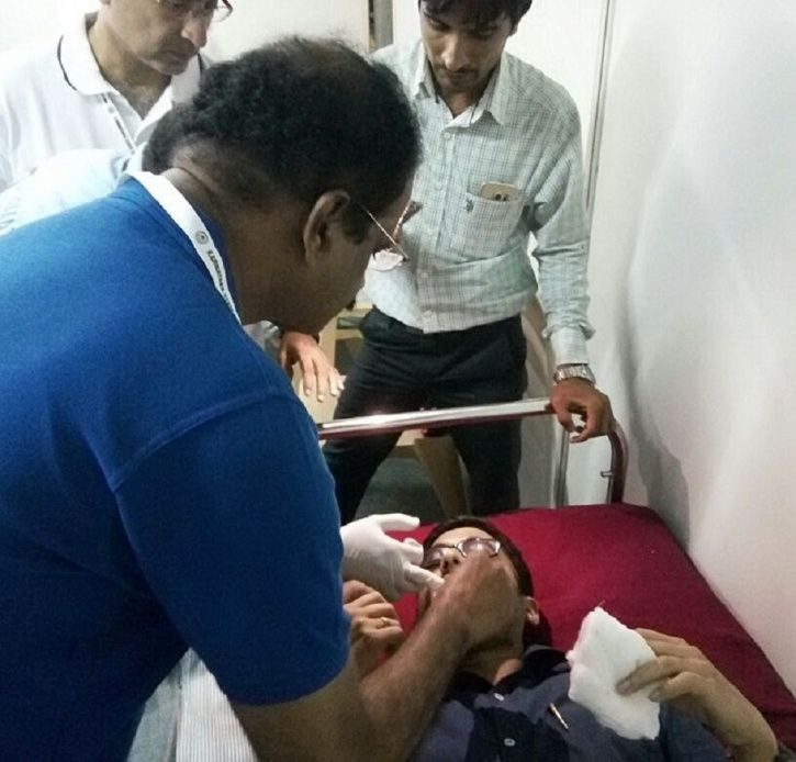 Hardik Pandya's Six Leaves Fan With Bloodied Mouth