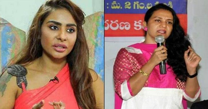 Sandhya Naidu supports Sri Reddy!