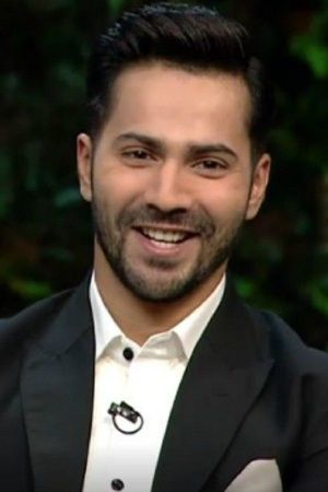 A picture of Bollywood actor Varun Dhawan