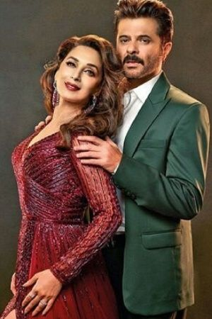 A picture of Madhuri Dixit and Anil Kapoor from Total Dhamaal