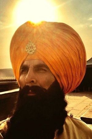 A still of Akshay Kumar from his film Kesari which is based on the Battle of Saragarhi