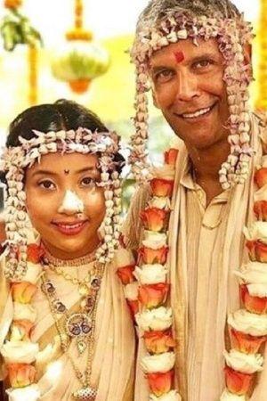 Milind soman and Ankita