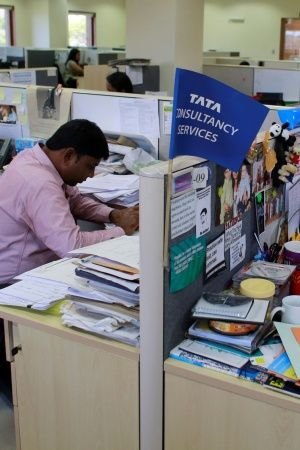 TCS Becomes First Indian Company To Breach 100 Billion Market Capitalisation