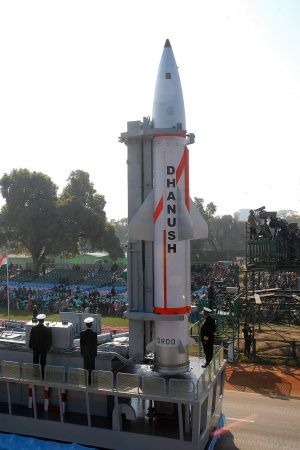 Dhanush Ballistic Missile Successfully TestFired