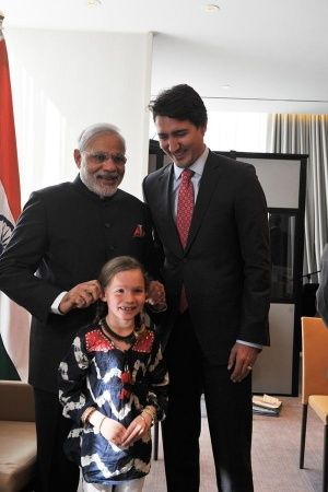 PM Modi Welcomes Canadian PM Justin Trudeau