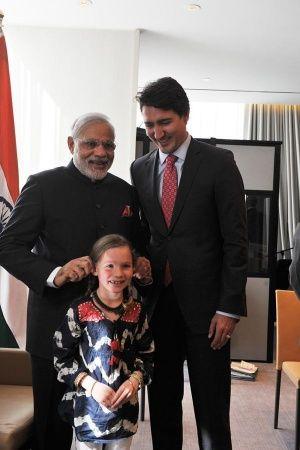 PM Modi Welcomes Canadian PM Justin Trudeau