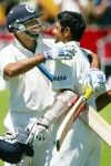 Rahul Dravid ad VVS Laxman added 303 runs for the 5th wicket