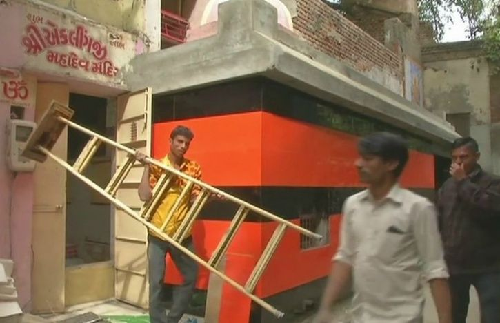 Renovation Of A 500-Year-Old Hanuman Temple In Gujarat