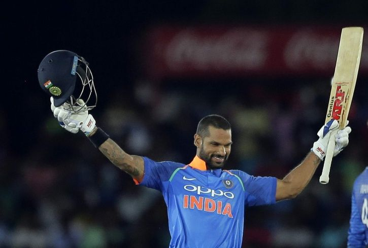ShikharDhawan has scored 13 ODI hundreds
