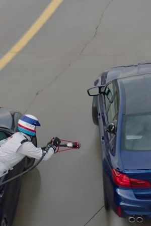 BMW mid drift refuel