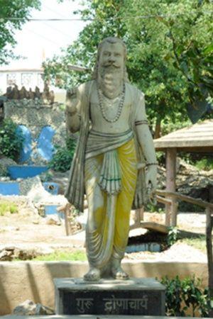 Guru Drona Statue Missing From Gurugram