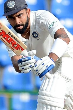 Kohli produced his 16th Test fifty