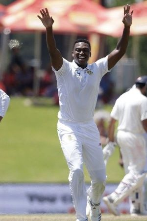Lungi Ngidi took 639 to help South Africa win by 135 runs