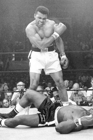 Muhammad Ali won 56 out of 61 fights