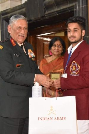 Punjab Boy Gets Bravery Award For Saving 15 Kids