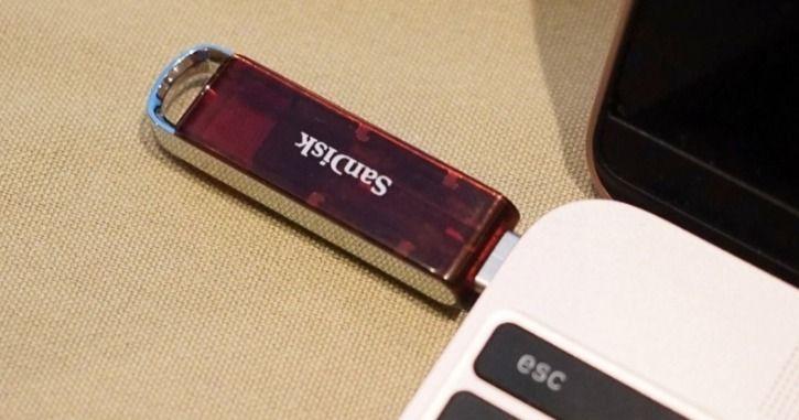Sandisk 1TB USB pen drive