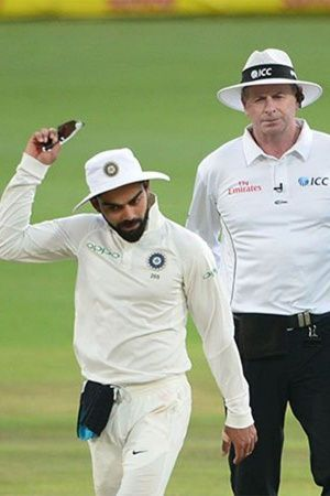 Virat Kohli Slapped With Fine For Behaving Badly With An Umpire