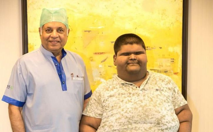 14 Year old Delhi boy Mihir Jain weighed 237 kg, World