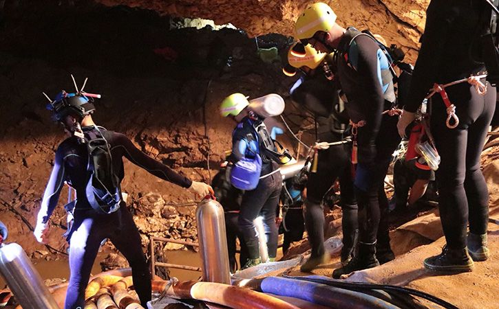 Eleventh Person Rescued From Thai Cave On Third Day Of Operation