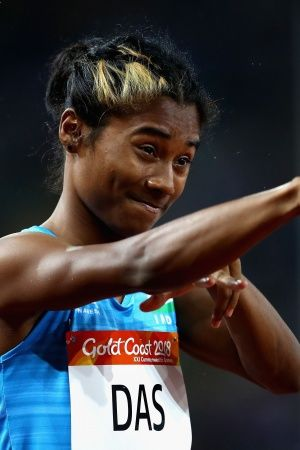 Hima Das clocked 5146 seconds