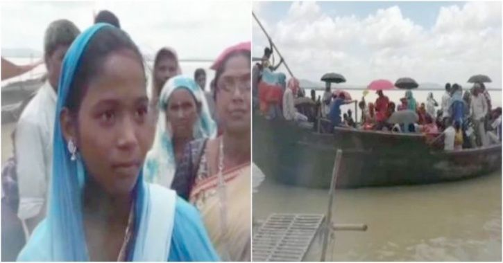 Bihar Bride Takes Boat To Save Wedding Which Was Cancelled Due To Halt In Ferry Service