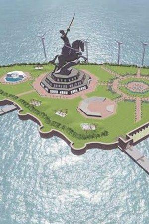 shibaji statue memorial mumbai narendra modi
