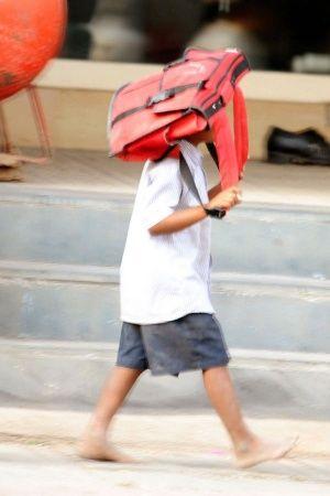 Student Beaten in delhi school