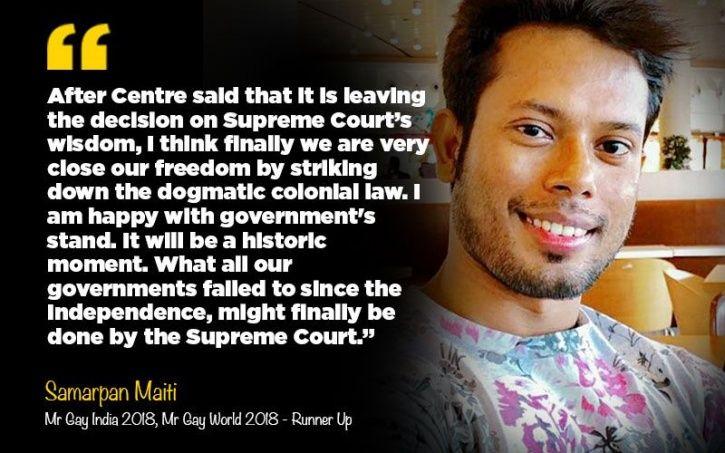 Supreme Court section 377 decriminalisation of homosexuality