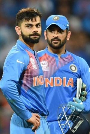 Virat Kohli and MS Dhoni form the backbone of the side