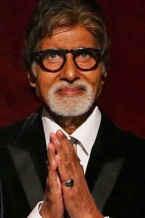A picture of Amitabh Bachchan who is donating Rs 1 crore to army widows and farmers