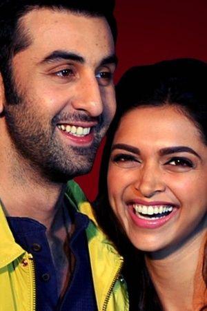 A picture of Ranbir Kapoor and Deepika Padukone