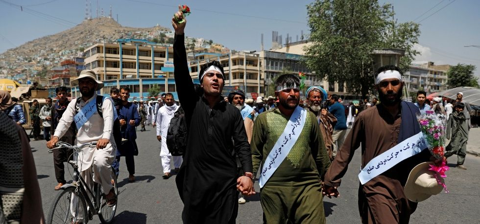 Afghanistan, peace march