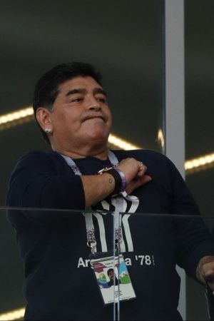 Diego Maradona Stern Words For Team Coach After Draw Vs Iceland