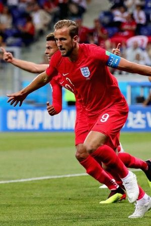 Harry Kane scored twice for England